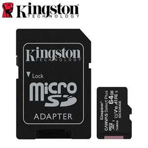Kingston金士頓 Canvas Select Plus microSD 64G 記憶卡