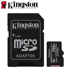 Kingston金士頓 Canvas Select Plus microSD 256G 記憶卡