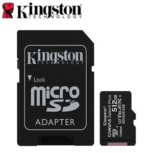 Kingston金士頓 Canvas Select Plus microSD 512G 記憶卡