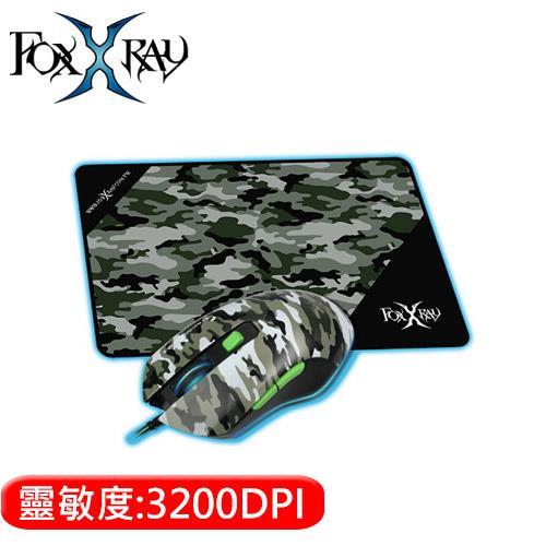 FOXXRAY 狐鐳 FXR-BMP-37 戰地獵狐電競滑鼠組