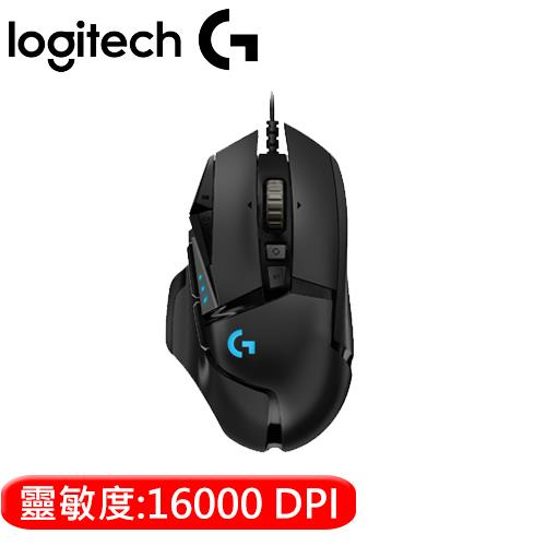 Logitech  羅技 G502 Hero 電競滑鼠