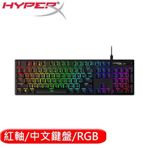 HyperX  金士頓 Origins RGB電競鍵盤 紅軸中文(HX-KB6RDX-TW)