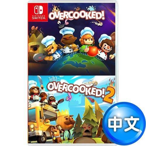 【網購獨享優惠】【客訂】Nintendo 任天堂 Switch《煮過頭1+2合輯(Overcooked)》中英文版