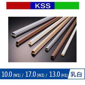 KSS TC-5MW 電話配線槽 乳白 (單支)