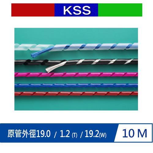 KSS KS-19BK 捲式結束帶(PE)  黑 10M