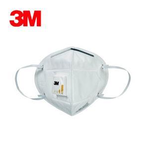 3M PM2.9501V 空污微粒防護口罩 帶閥型3片包