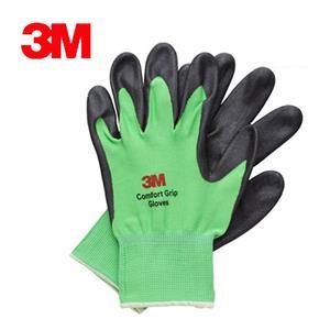 3M 亮彩舒適型止滑/耐磨手套 綠色 M