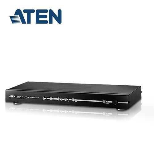 ATEN宏正 VS482 4埠HDMI影音切換器附雙輸出
