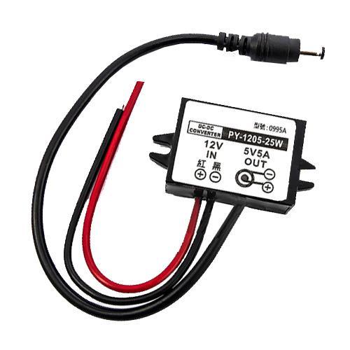 DC-DC降壓電源轉換器+DC線 PY-1205-25W 實驗室模組 0995A