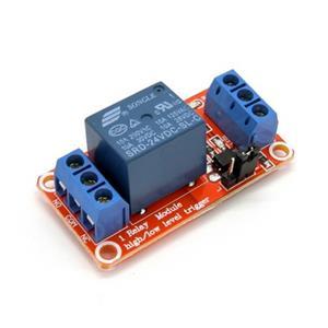 12V 1路繼電器高/低電平驅動板