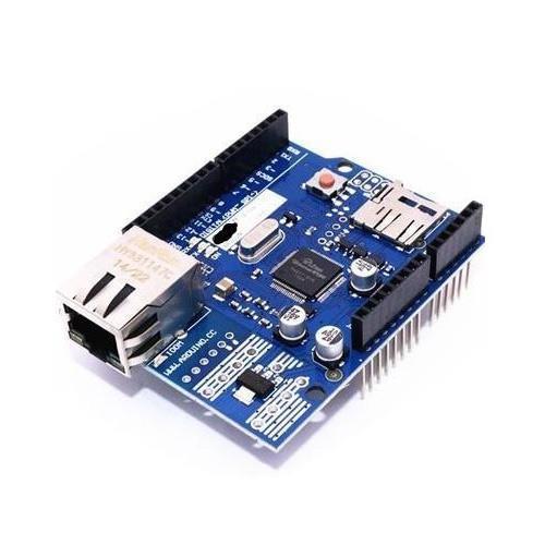 W5100 網路模組擴充板(相容Arduino)