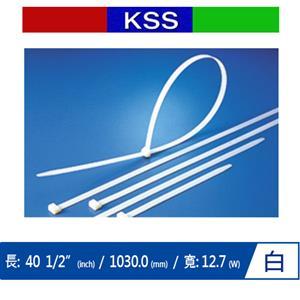 KSS CV-1030XL 超寬型紮線帶 白 (100 PCS)