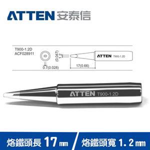 ATTEN安泰信 T900系列 1.2D一字烙鐵頭 T900-1.2D