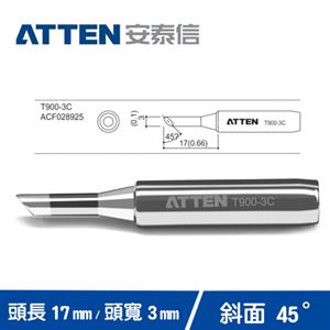 ATTEN安泰信 T900系列 3C斜面烙鐵頭 T900-3C
