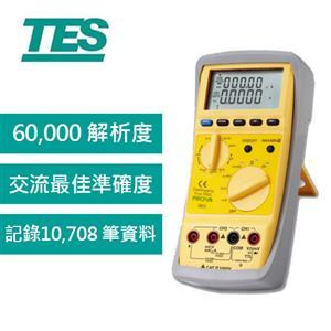 TES泰士 雙頻道記憶三用電錶PROVA 903