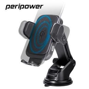 PERIPOWER 無線充電自動開合夾臂式伸縮調整手機架 PS-T09