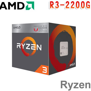 AMD超微 Ryzen 3 2200G 處理器
