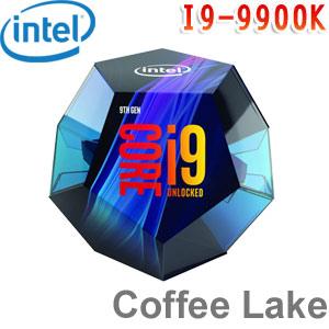 Intel英特爾 Core i9-9900K 處理器 (無風扇)