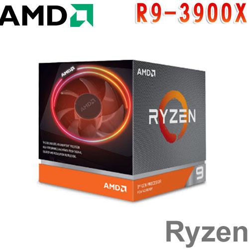 AMD超微 Ryzen 9 3900X 處理器