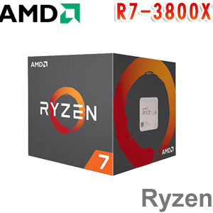AMD超微 Ryzen 7 3800X 處理器