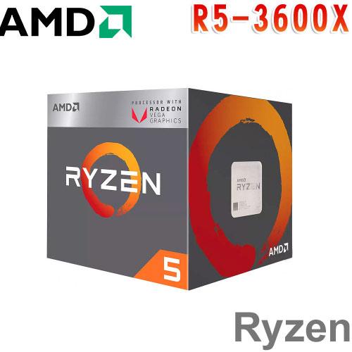 AMD超微 Ryzen 5 3600X 處理器