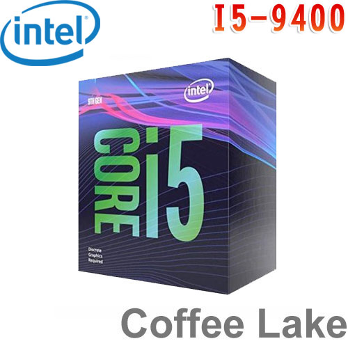 Intel英特爾 Core i5-9400 處理器