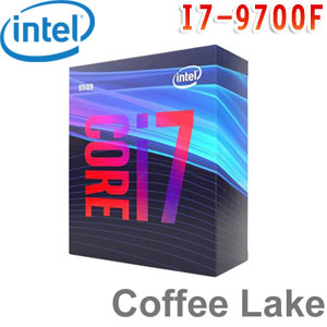 Intel英特爾 Core i7-9700F 處理器 (無內顯功能,有風扇)