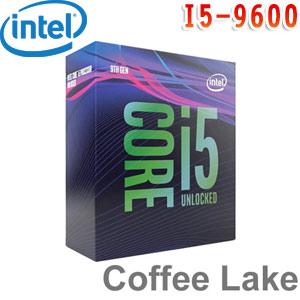 Intel英特爾 Core i5-9600 處理器