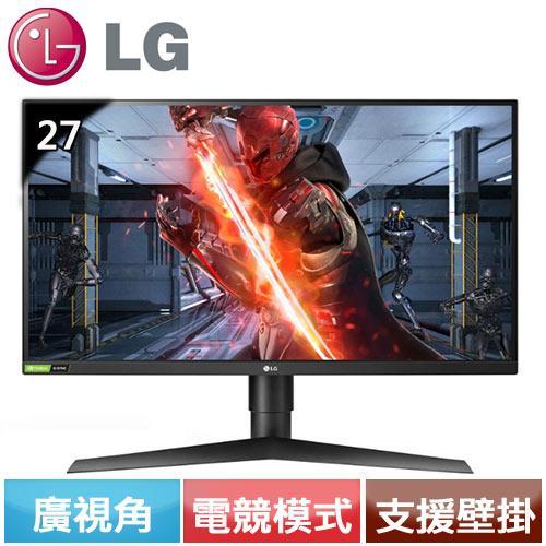 LG 27型 2K專業玩家G-Sync電競螢幕 27GL850-B