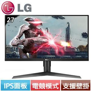 LG 27型 AH-IPS專業玩家G-Sync電競螢幕 27GL650F-B