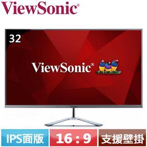 ViewSonic優派 32型 IPS美型螢幕 VX3276-MHD