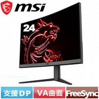 MSI微星 24型 Optix G24C4 電競曲面螢幕