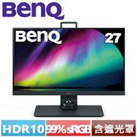 BenQ SW270C 2K IPS專業攝影修圖螢幕