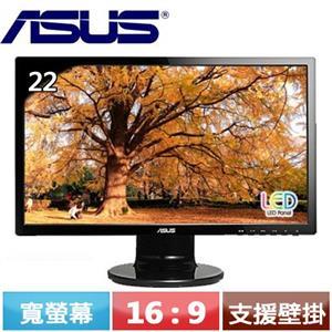 ASUS華碩 22型 VE228TR 16:9寬螢幕 黑色