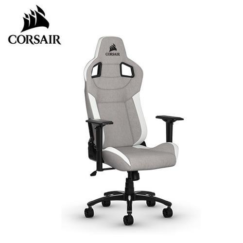CORSAIR 海盜船 T3 RUSH 電競椅 灰白