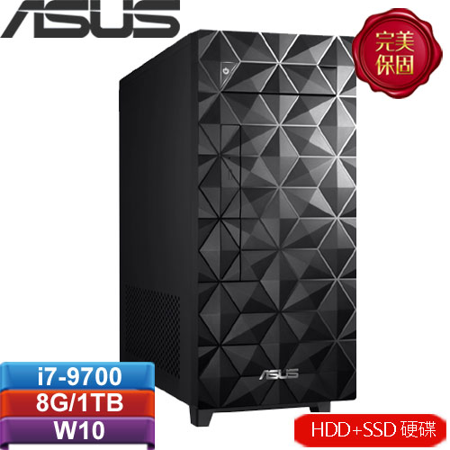 ASUS華碩 H-S340MF-I79700018T 桌上型電腦
