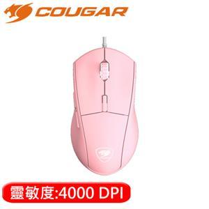 COUGAR 美洲獅 MINOS XT PINK 電競滑鼠