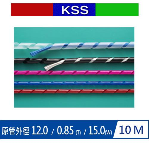 KSS 捲KS-12BK 式結束帶-PE 黑 (10M)