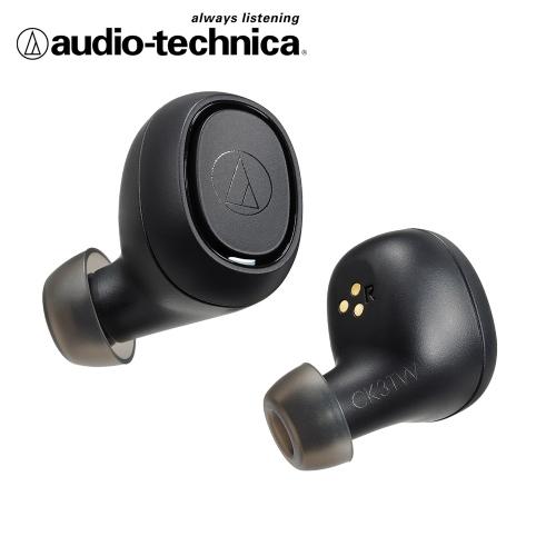 audio-technica 鐵三角 ATH-CK3TW 真無線藍芽耳機-黑色