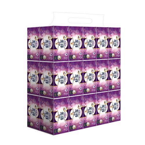 舒潔頂級三層舒適竹炭萃取抽取衛生紙 90抽x30包/箱