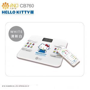 iNO 合晶 Hello Kitty  CB760 藍牙體重計 -白