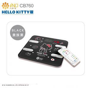 iNO 合晶 Hello Kitty  CB760 藍牙體重計 -黑