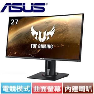 R2【福利品】ASUS華碩 27型 VA曲面電競螢幕 VG27VQ.