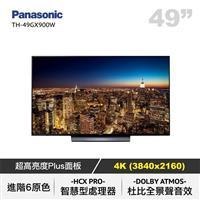 PANASONIC 49型日製4K聯網LED電視  TH-49GX900W