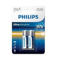 PHILIPS 超鹼3號電池2入(背卡)