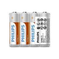 PHILIPS 飛利浦 碳鋅3號電池4入(熱縮) AA