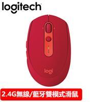 Logitech 羅技 M585 多重裝置多工滑鼠 寶石紅