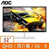 AOC 32型 Q3279VWFD8 16:9 QHD IPS螢幕