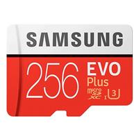 SAMSUNG三星 EVO PLUS microSDXC UHS-I 256GB 記憶卡