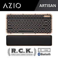AZIO R.C.K. ARTISAN BT 藍牙真牛皮短版鍵盤 中文 (PC/MAC)